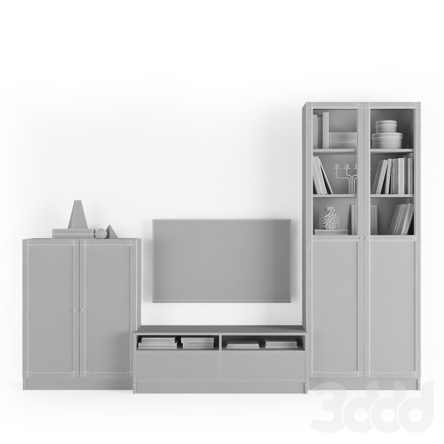Стеллаж Билли / Оксберг / Гнедби Ikea.