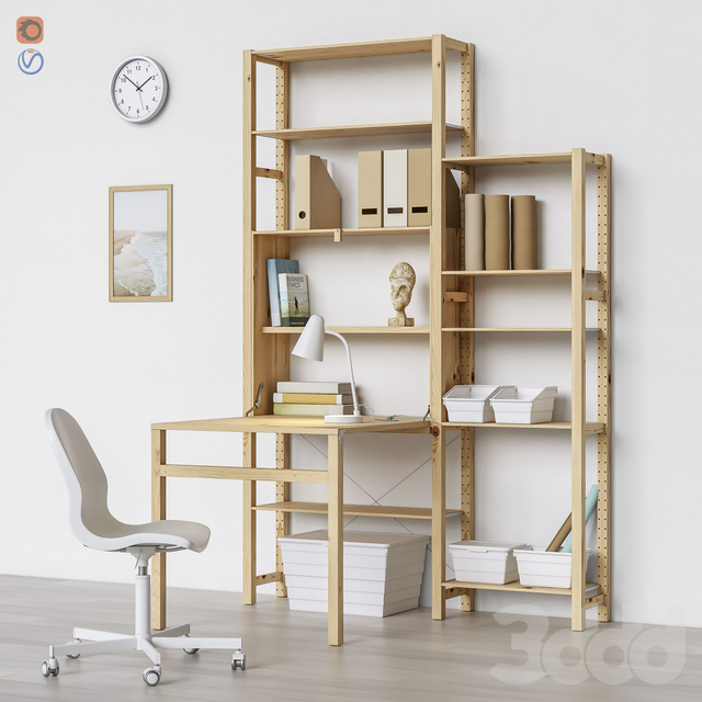 Workplace set 8 ( 3 module options )
