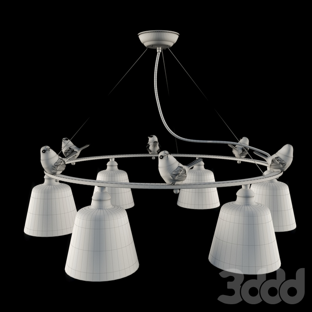 Люстра Arte Lamp Passero A4289LM-6WH