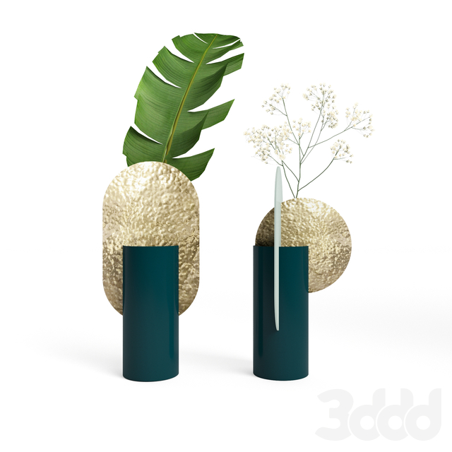 (OM) Genke and Yermilov vases by NOOM