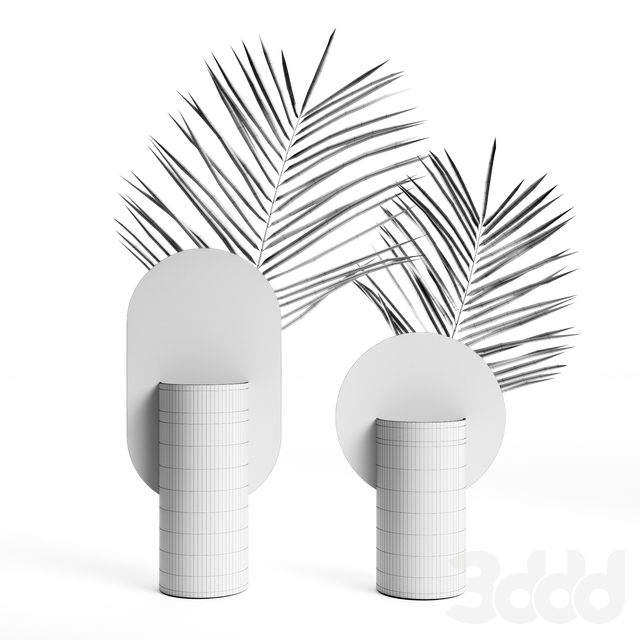 (OM) Genke and Malevich vases by NOOM