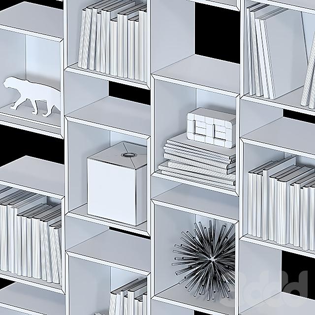 Комбинация настенных шкафов IKEA Экет 5.
