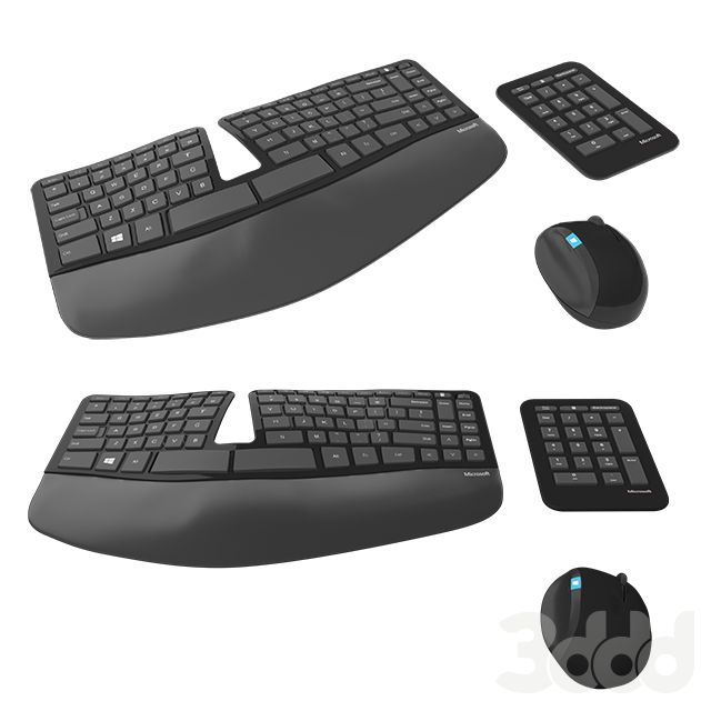 Microsoft Ergonomic Keyboard Set
