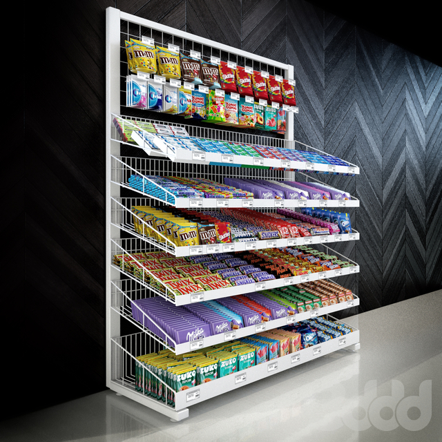 Candy rack