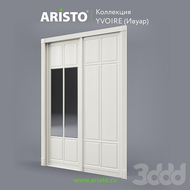 OM Раздвижные двери ARISTO, Ivoire, Yv.90.4, Yv.90.5