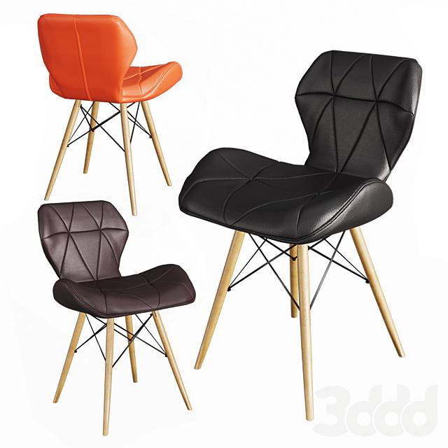 Кожаный стул Butterfly