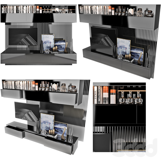 TV Wall   set 12