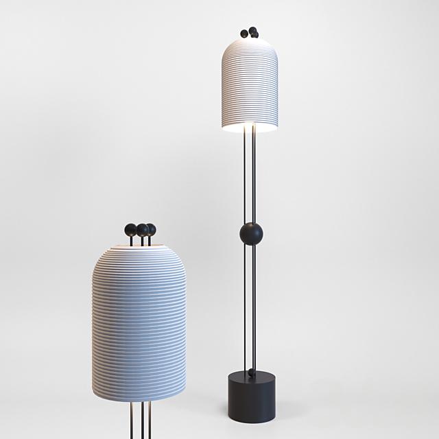 Apparatus Lantern Floor Lamp
