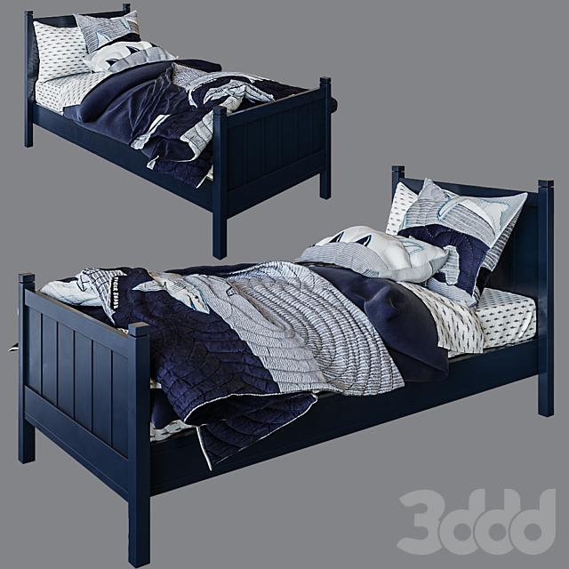 кровать Camp Single Bed, Navy