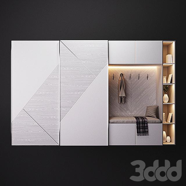 Мебель со шкафом-купе Cross