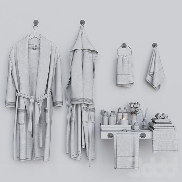 Декоративный набор для санузла 5