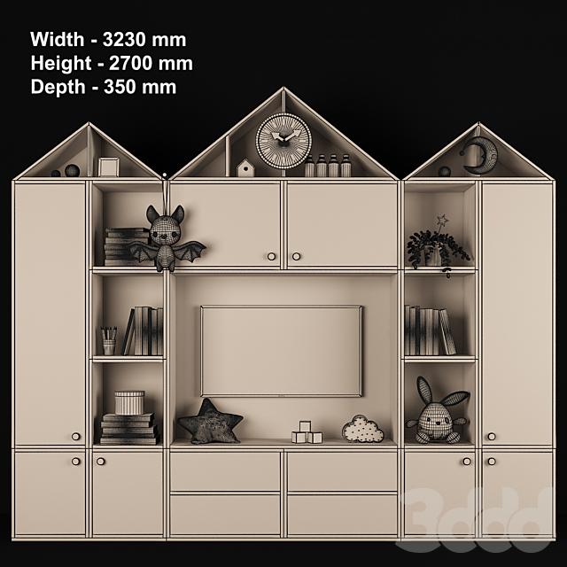 Мебельная композиция для детской комнаты 73