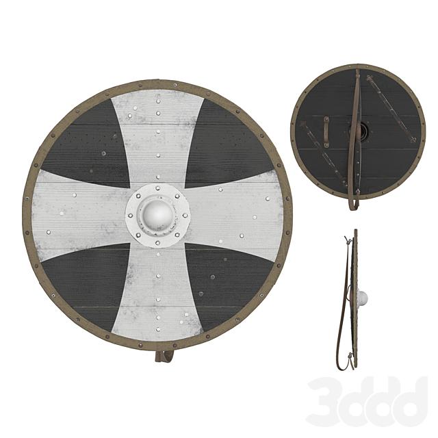 Viking Round Shield 2
