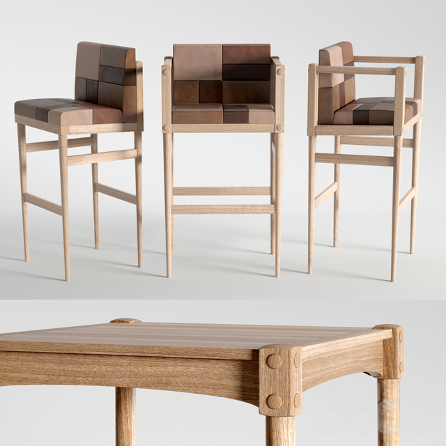 Karpenter BAR RESTO chairs SQUARE BAR table