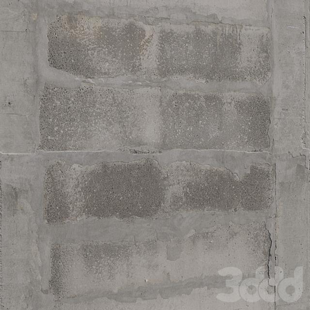Бетонные блоки (стена)
