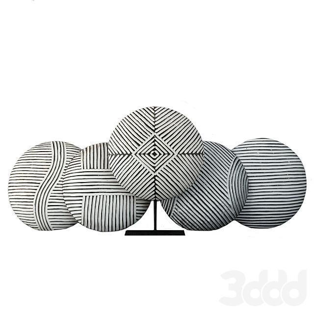 Zulu Round Shields