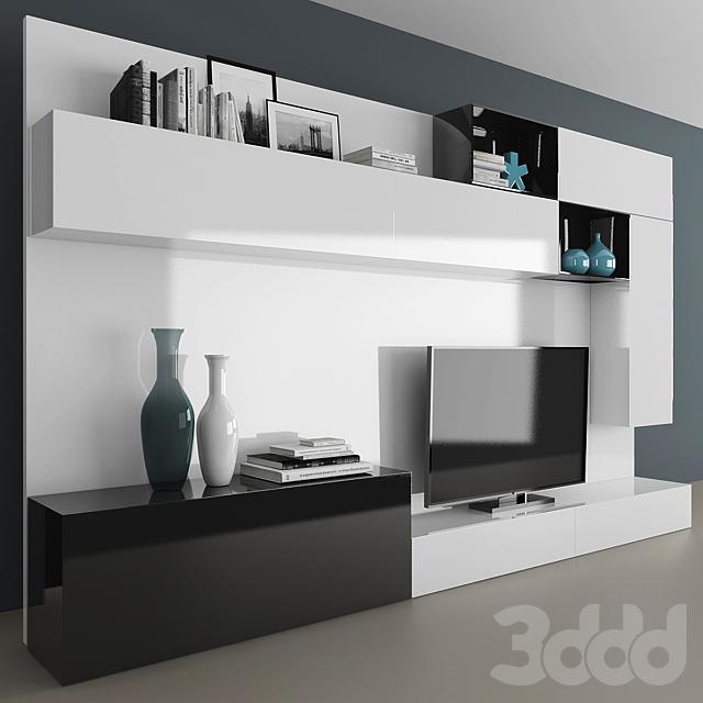 TV stand set 057