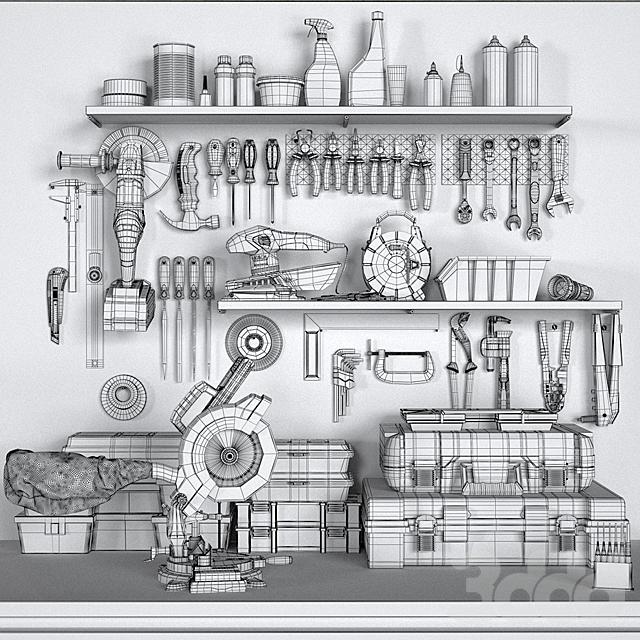 garage tools set 2