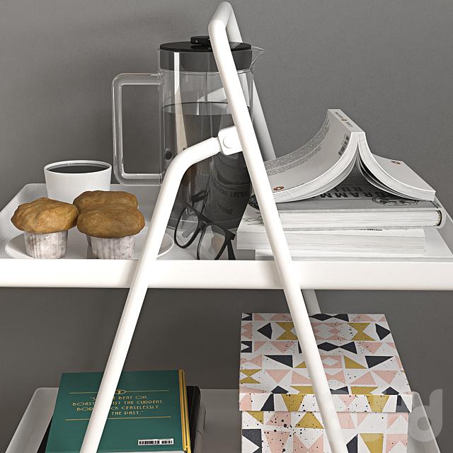 IKEA Tray stand