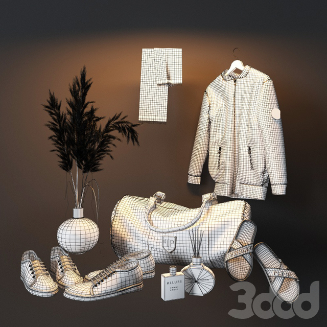 Decorative set in the hall 6