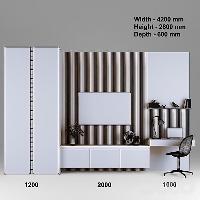 Мебельная композиция 80