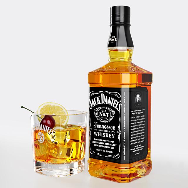 Still Life Whiskey Set