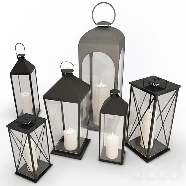 Metallic Lanterns