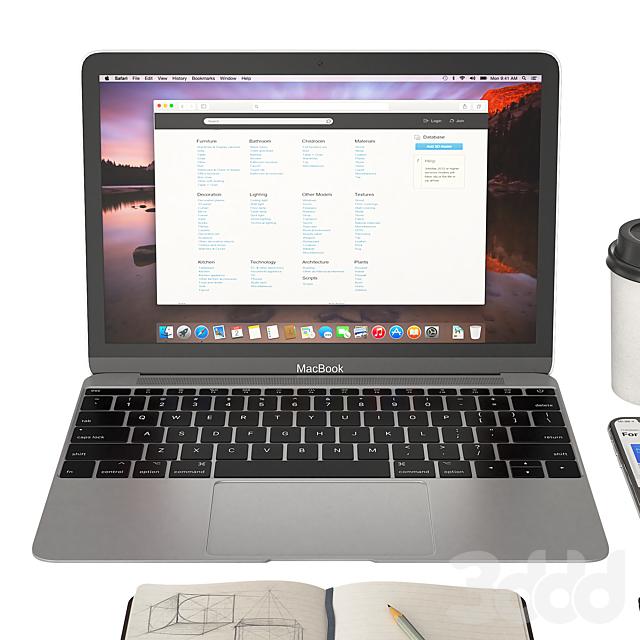 Workplace MacBook 12