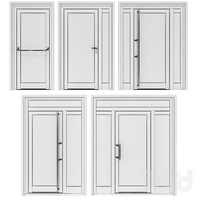 Металлические противопожарные двери