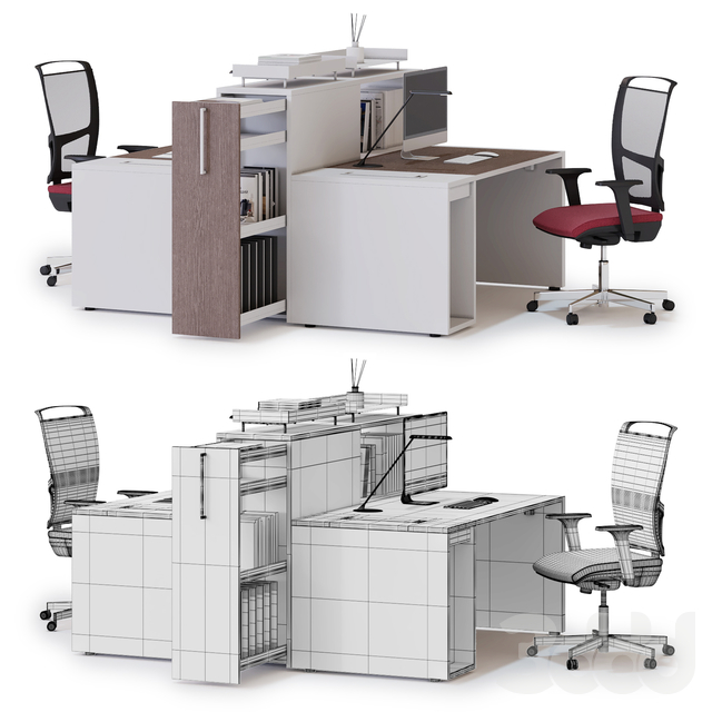 Office workspace LAS LOGIC (v2)