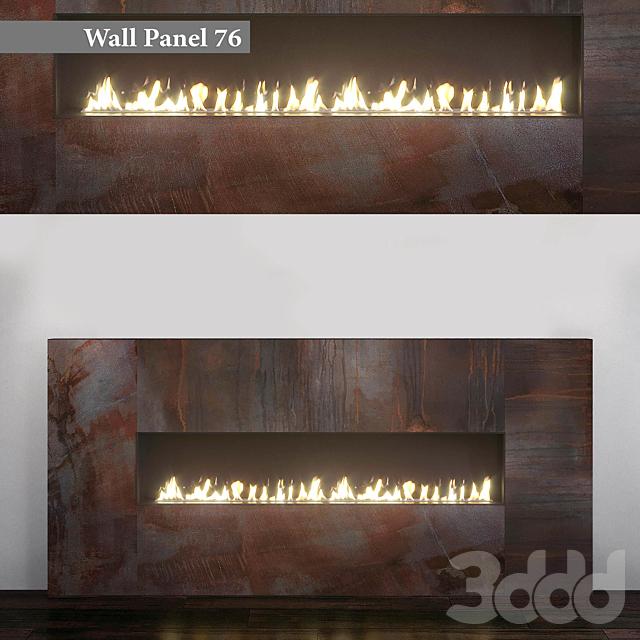 Wall Panel 76. Fireplace