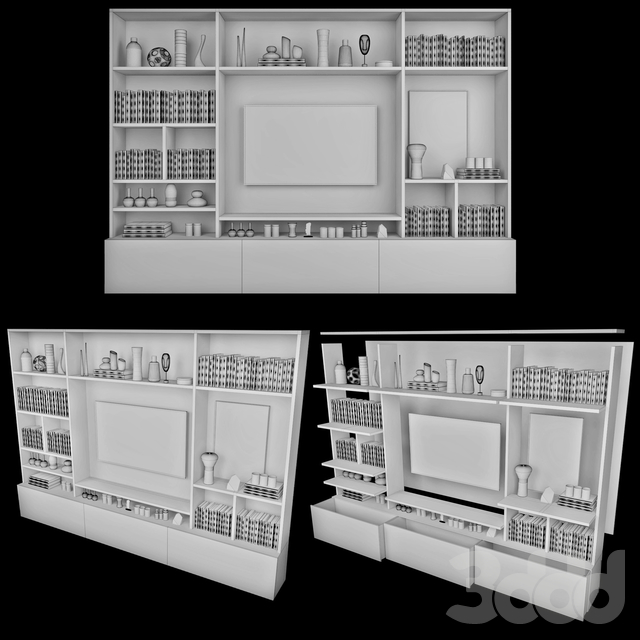 TV Wall | set 27