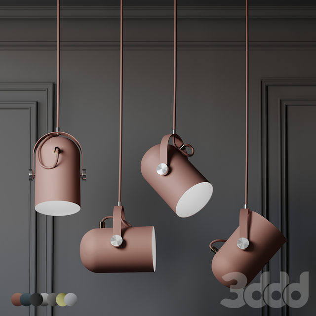 Warmly - Modern Nordic Angled Drop Lights - 7 Colors