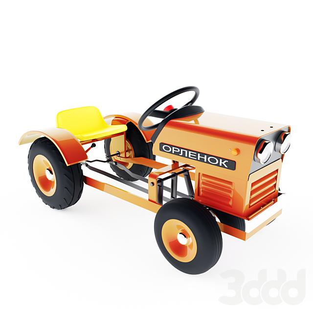 Foot tractor