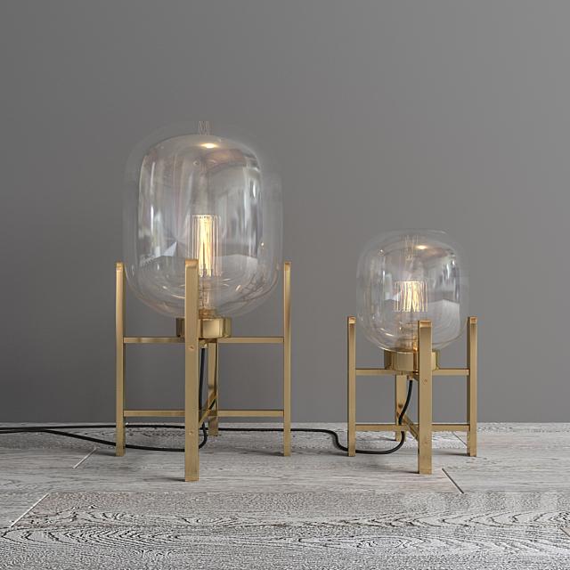 Lamp Flamant Kaorie (Belgium)