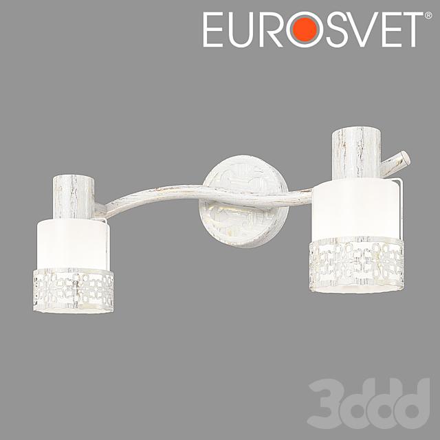 ОМ Настенный светильник Eurosvet 20025/2 Silvia