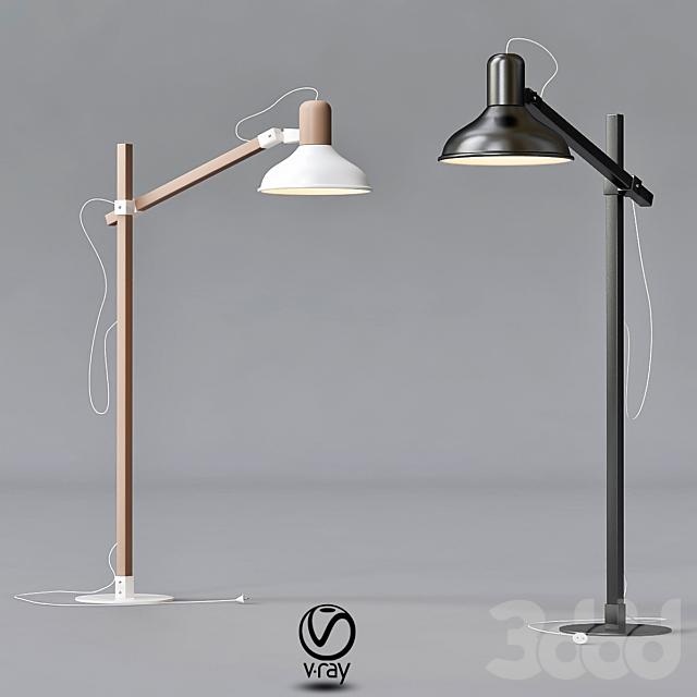 Floor lamp  Nowodvorski 6534 WOOD BOY