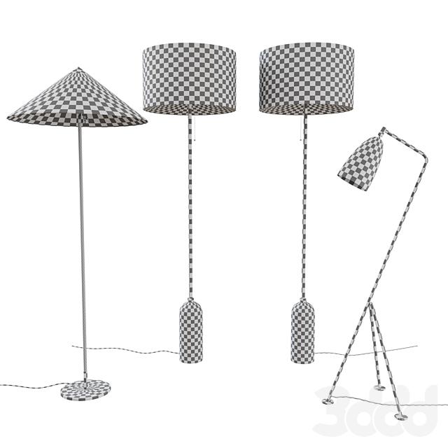Gubi Floor Lamps Collection