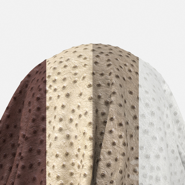 Edelman - Ostrich Leather - Pack 1 (4 Seamless Materials)