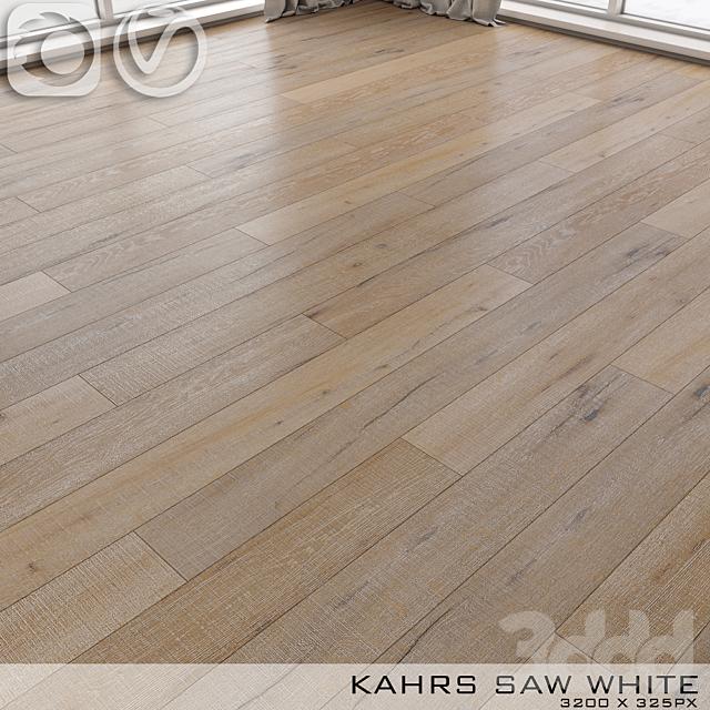 Паркет Kahrs Oak Saw White