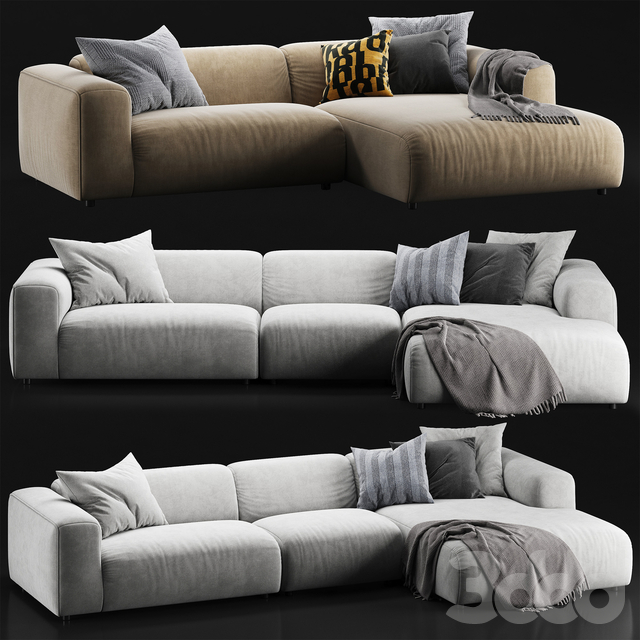 Rolf Benz freistil 187 sofa set