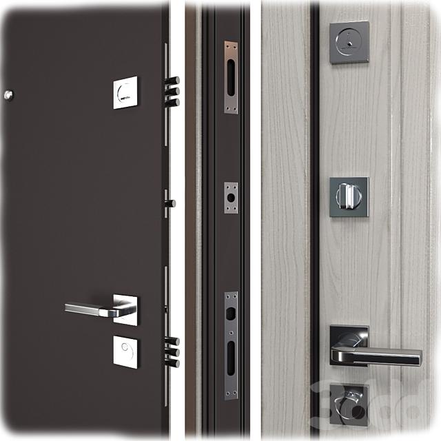 Входная металлическая дверь Тауэр (Ваша Рамка)