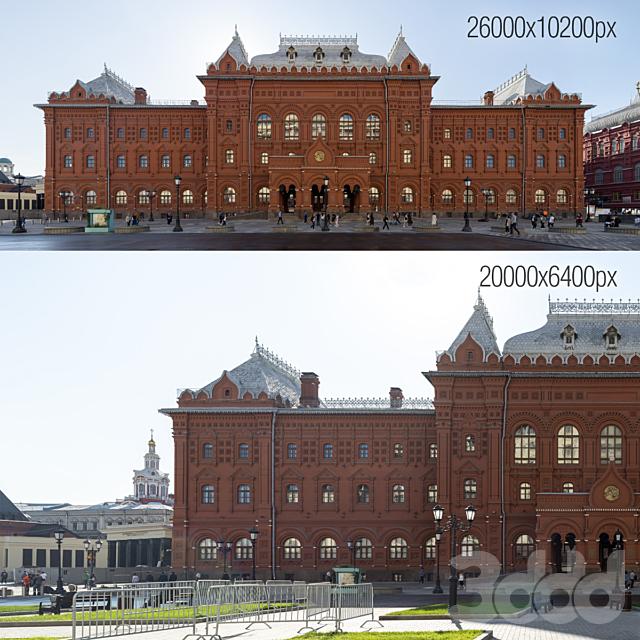 Панорамы фасада на музей войны 1812 года