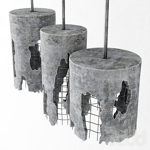 Подвесы бетонные / Concrete suspensions
