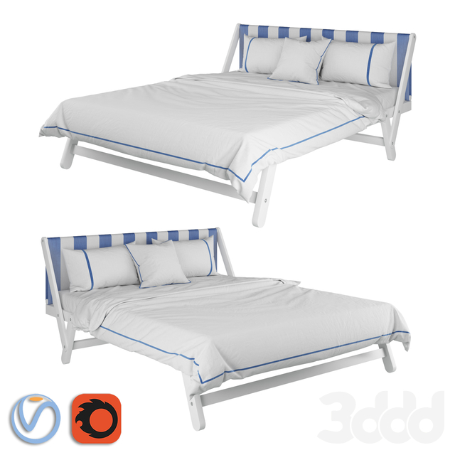 Noctis Tolò Bed