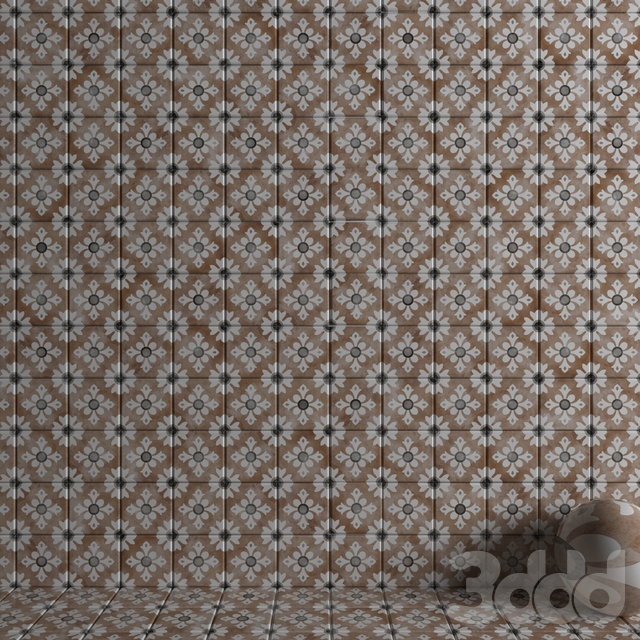 Wall tiles 223 Classic Cotto Set 4