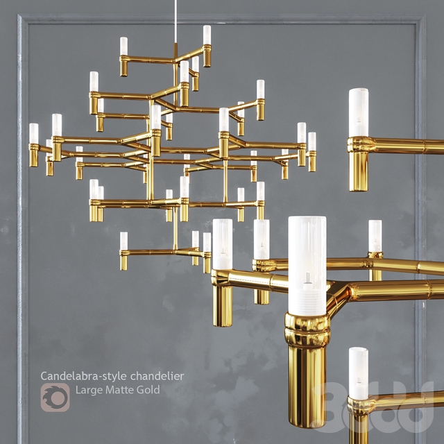 Люстра EQUINOX CHANDELIER Large Gold