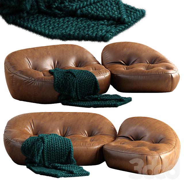 spHaus Plumpstones sofa