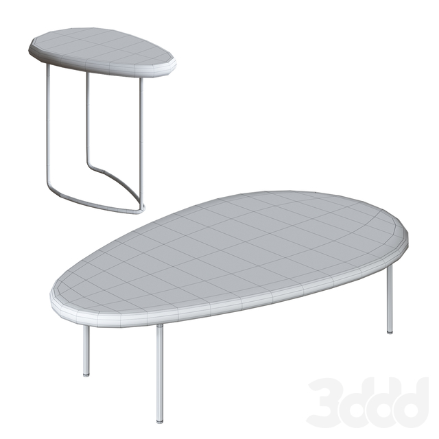 Casamania & Horm LILY Highside Table Set