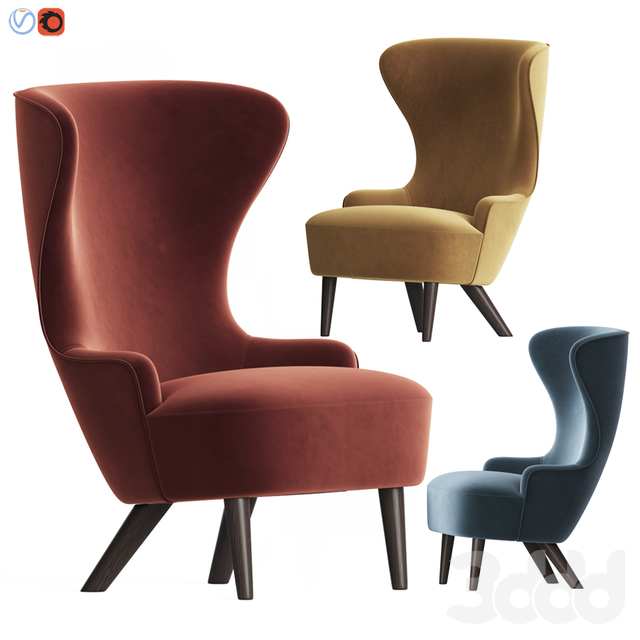 Wingback Micro Chair Tom Dixon